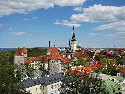 Estonia, Tallinn view