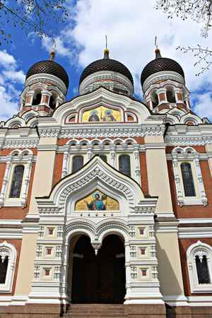 Estonia, Tallinn: Alexander Nevsky Cathedral
