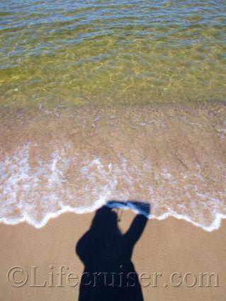 Får&ouml beach shadow 1