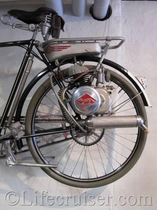 bicycle motor, Gotland, Sweden