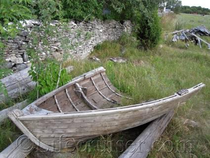 faro-half-boat, Gotland, Sweden