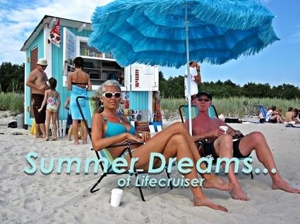 Lifecruiser beach bums, Sudersand, Gotland, Sweden