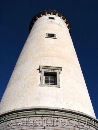 faro-lighthouse-bottom-angle, Gotland, Baltic Sea, Sweden