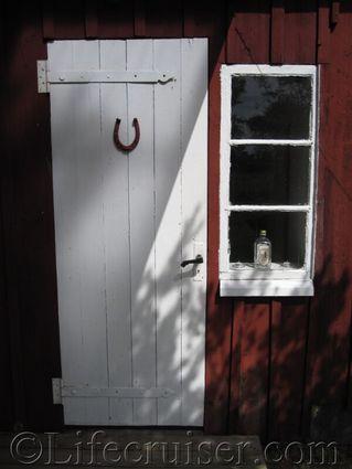 Lucky door, Faro, Gotland, Sweden