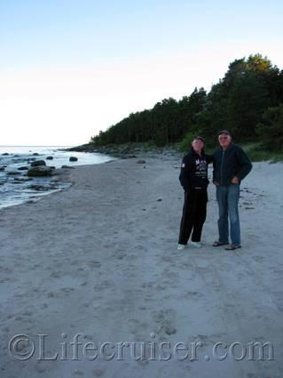 Skalahauar beach, film scene, Fårö, Gotland, Sweden