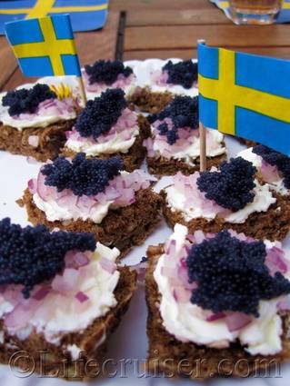 Fårö snacks, Sweden