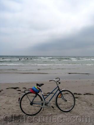 faro-sudersand-beach-bike, Gotland, Sweden