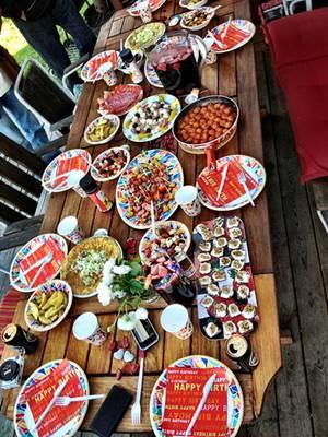 Fårö Tapas party dishes