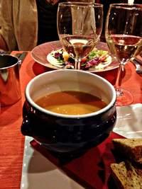Finland: Katajanokka hotel restaurant's lobster soup