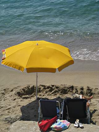 French Riviera Photo: beach peace