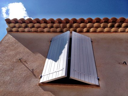 France: Traditional French Windows Shutters