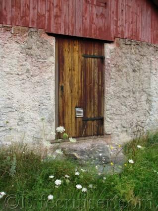 Gotland: 3-color-door-photo, Sweden