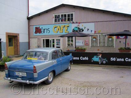 Austin Cambridge at 56ans Nostalgia cafe, Gotland, Sweden