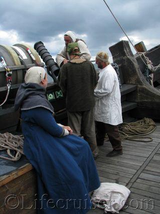 gotland-cog-ship-gun, Visby, Sweden