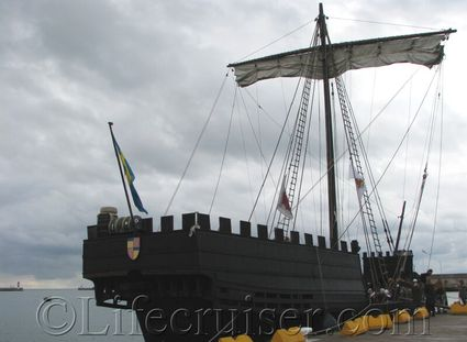 gotland-cog-ship, Visby, Sweden