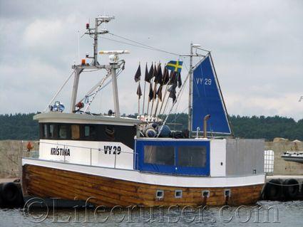 gotland-fishing-boat-kristina, Sweden