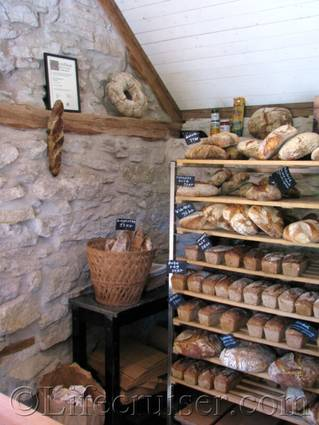 Rute Stenugnsbageri bread, Gotland, Sweden
