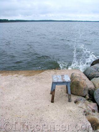 gotland-stool-pool-sea, Sweden