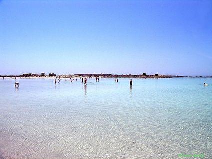 Greece, Crete: Elafonisi beach