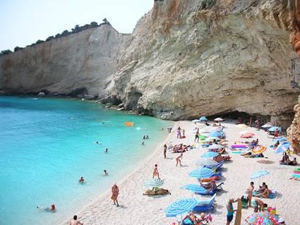 Greece, Lefkada Island: Katsiki beach