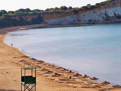 Greece, Zakynthos or Zante: Gerakas Protected Turtle Beach