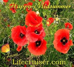 Happy Midsummer Poppies 2012 from Lifecruiser