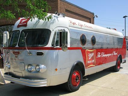 Millers High Life Cruiser Vintage Bus