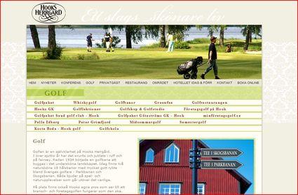 Hooks Golf Course, Sweden
