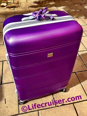 Jane's birthday gift suitcase