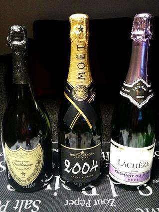 Lifecruiser 3 bottles Champagne