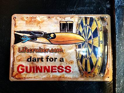 Lifecruiser.com Travel Photos: Guinness Dart Sign