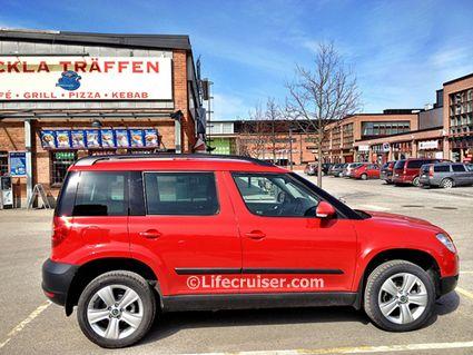 Lifecruiser red car