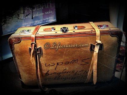 Lifecruiser Travel Vintage leather suitcase
