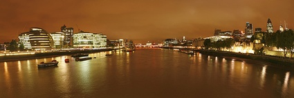 London nights - Thames
