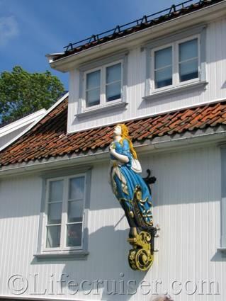Drobak galleon figure, Norway
