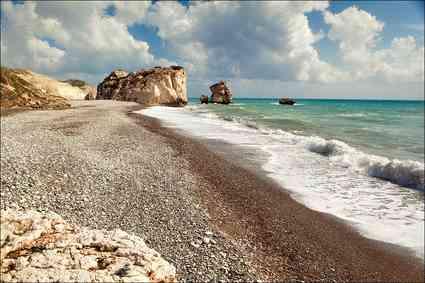 pahphos-petra_tou_romiou_beach, Cyprus