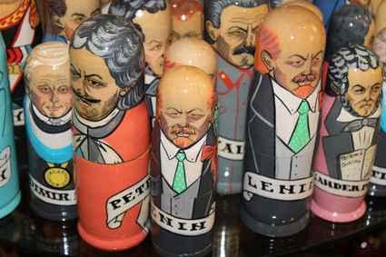 Russia, Saint Petersburg Souvenirs