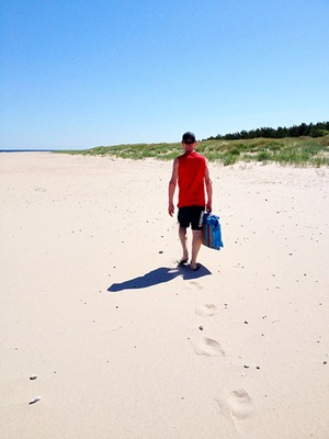 Sweden, Fårö: Beach walk by Mr Lifecruiser