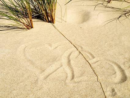 Sweden, Faro: Love Beach Hearts of Lifecruiser