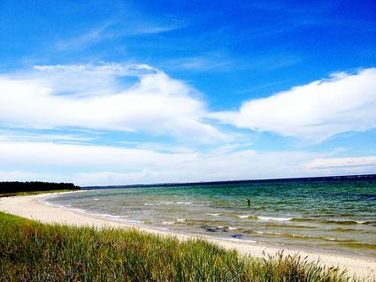 Sweden, Gotland: Skärsviken beach