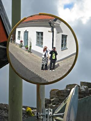Sweden, Gotland: Visby Mirror of Lifecruiser