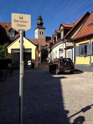 Sweden, Gotland, Visby: Södra Kyrkogatan