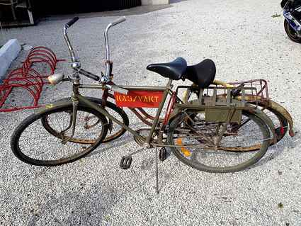 Sweden: Gotlandic old military bicycle from KA3
