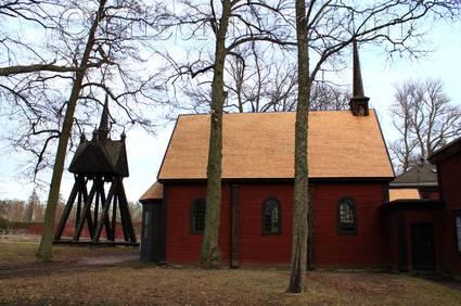 Sweden: Julita Skansen Church