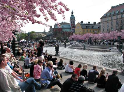 Sweden Photo: The Kings Garden mingle, Stockholm City