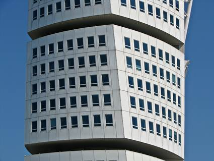 Sweden, Malmo: Turning Torso Cube Section