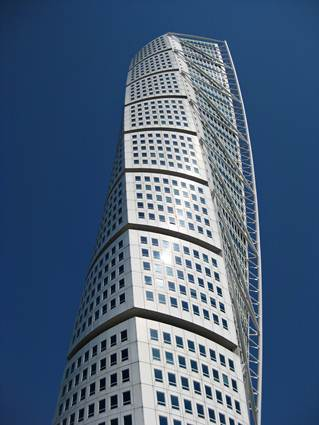 Sweden, Malmo: Turning Torso Twisted Tower