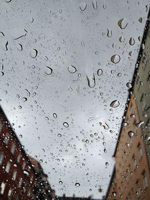 Sweden: Rain in Stockholm