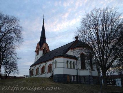 Sweden roadtrip: Katrineholm church