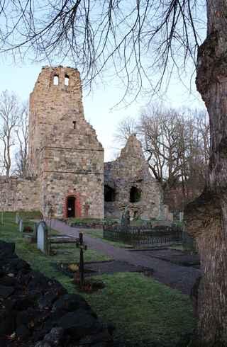 Sigtuna: St Olofs Church ruin, Sweden